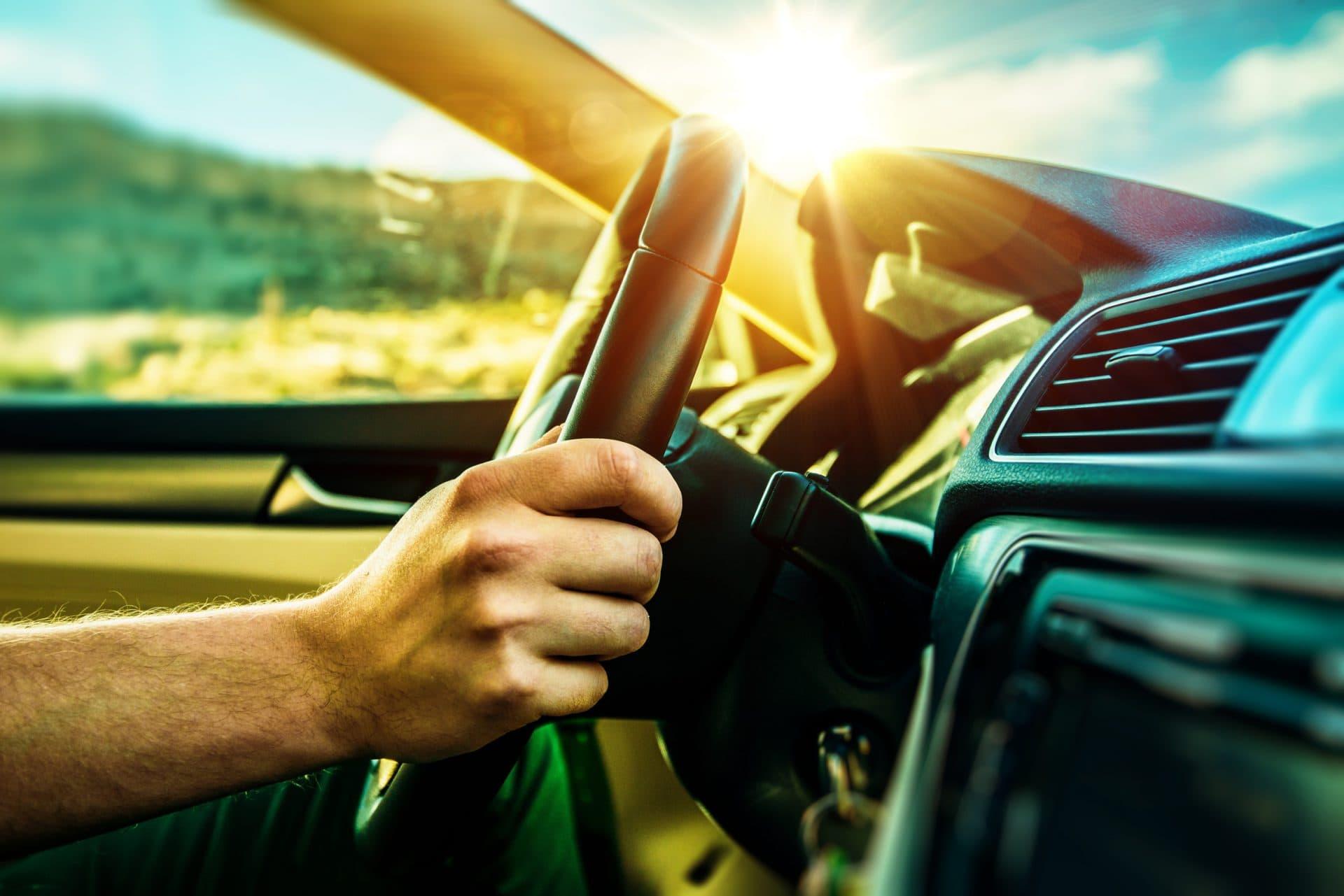 Innenansicht Auto